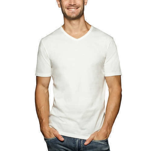 Buffalo David Bitton Other - Men's 3-Pack V-Neck Classic Fit Cotton T-shirt